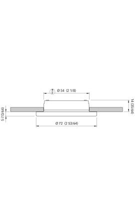 BASE PVC MM.40 PER SPHAERA 25
