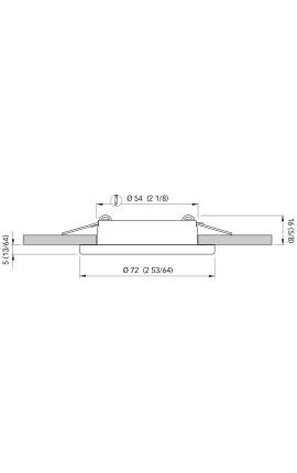 BASE PVC MM.50 PER SPHAERA 35