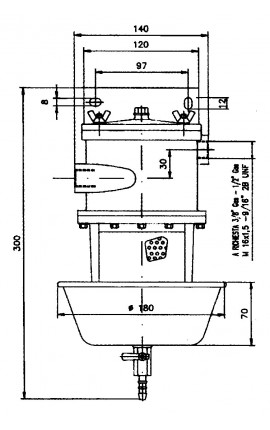 AMPEROMETRO 60-0-60 /N